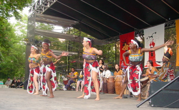 African Dance Ensemble company