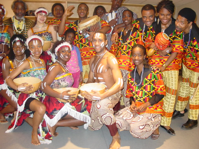 African Dance Ensemble company